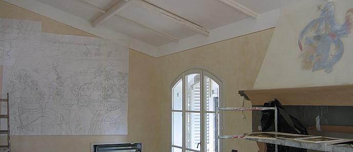 Immagini di tinteggiatura pareti interne for Immagini per pareti interne
